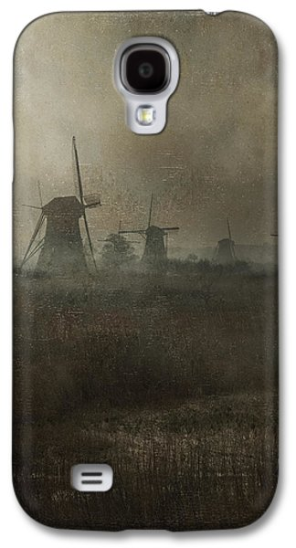 Old Mills Galaxy S4 Cases - Windmills Galaxy S4 Case by Joana Kruse