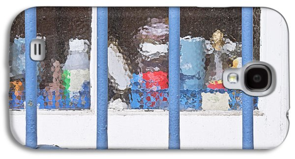 Anti Galaxy S4 Cases - Window bars Galaxy S4 Case by Tom Gowanlock