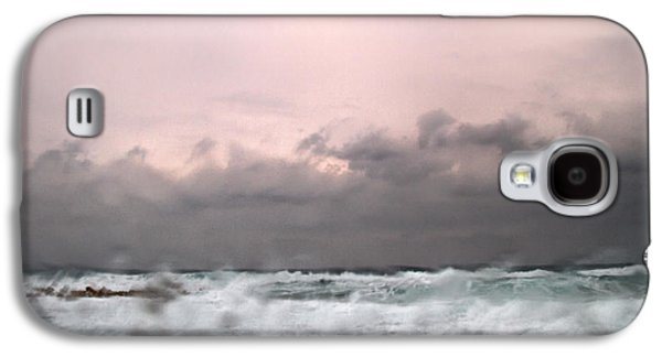 Abstract Rain Galaxy S4 Cases - Window Sea Storm  Galaxy S4 Case by Stylianos Kleanthous