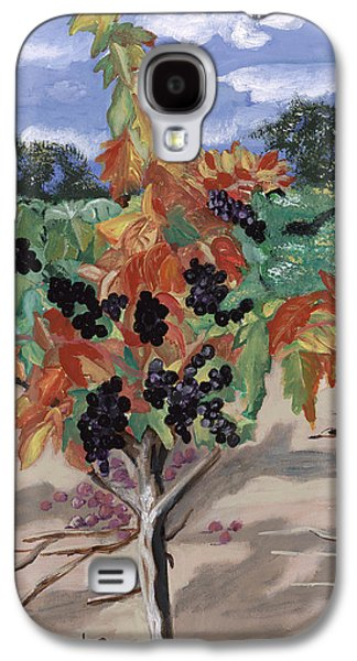 Solitary And One Of A Kind Wine Landscape Galaxy S4 Cases - Wine Country Galaxy S4 Case by Reba Baptist