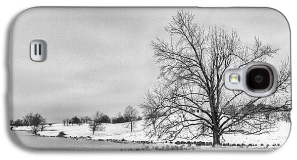 Daviess County Galaxy S4 Cases - Winter in Kentucky Galaxy S4 Case by Wendell Thompson