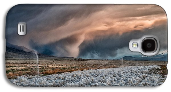 Winter Storm Photographs Galaxy S4 Cases - Winter Storm Galaxy S4 Case by Cat Connor