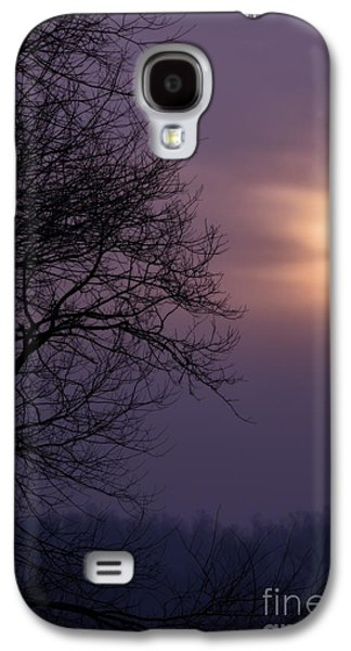 Colorful Cloud Formations Galaxy S4 Cases - Winter Sunrise Galaxy S4 Case by Thomas R Fletcher