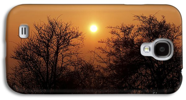 Gloaming Galaxy S4 Cases - Winter Sunset Galaxy S4 Case by Michal Boubin