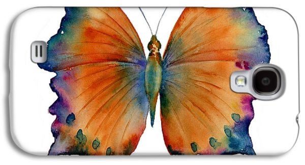 Moth Paintings Galaxy S4 Cases - 1 Wizard Butterfly Galaxy S4 Case by Amy Kirkpatrick