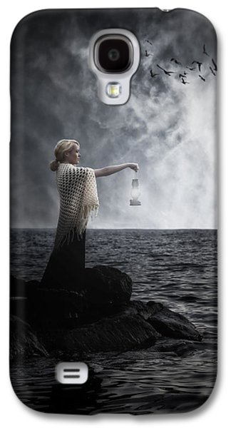 Shawl Galaxy S4 Cases - Woman With Lantern Galaxy S4 Case by Joana Kruse