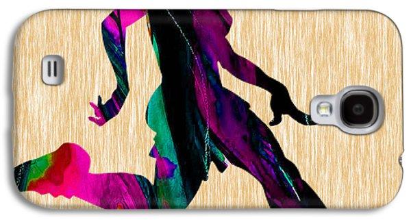 Women's Soccer Galaxy S4 Case by Marvin Blaine