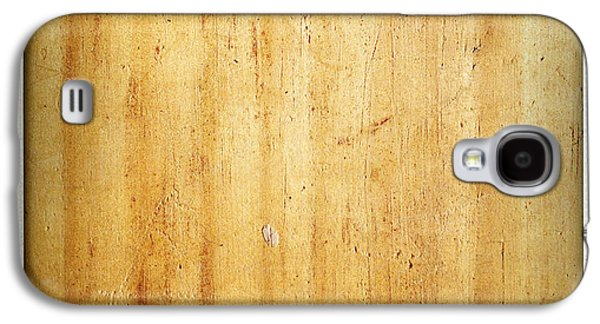 Flooring Galaxy S4 Cases - Wood texture Galaxy S4 Case by Les Cunliffe