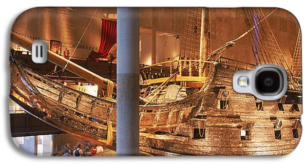 Reconstruction Galaxy S4 Cases - Wooden Ship Vasa In A Museum, Vasa Galaxy S4 Case by Panoramic Images