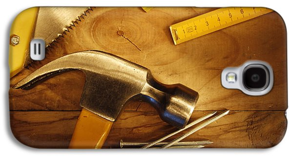 Home Improvement Galaxy S4 Cases - Work tools Galaxy S4 Case by Les Cunliffe