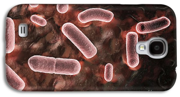 Pathogenic Galaxy S4 Cases - Yersinia Pestis Black Plague Galaxy S4 Case by Science Picture Co