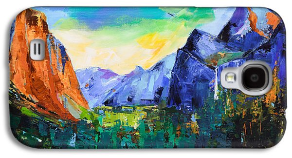 Yosemite Valley - Tunnel View Galaxy S4 Case by Elise Palmigiani