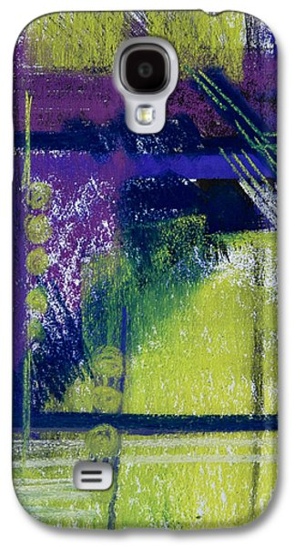Contemporary Abstract Pastels Galaxy S4 Cases - No Winter Lasts Forever Galaxy S4 Case by Tracy L Teeter
