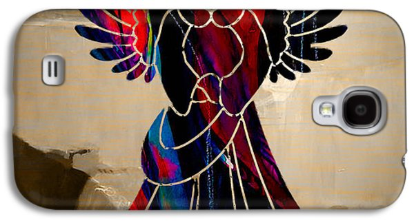 Angel Galaxy S4 Cases - Angel Galaxy S4 Case by Marvin Blaine