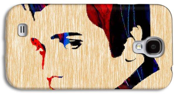Elvis Presley Galaxy S4 Cases - Elvis Galaxy S4 Case by Marvin Blaine