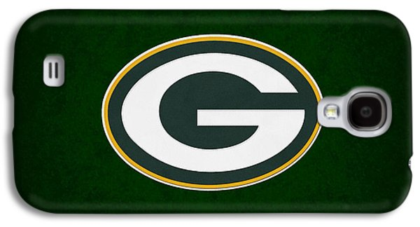 Offense Galaxy S4 Cases - Green Bay Packers Galaxy S4 Case by Joe Hamilton