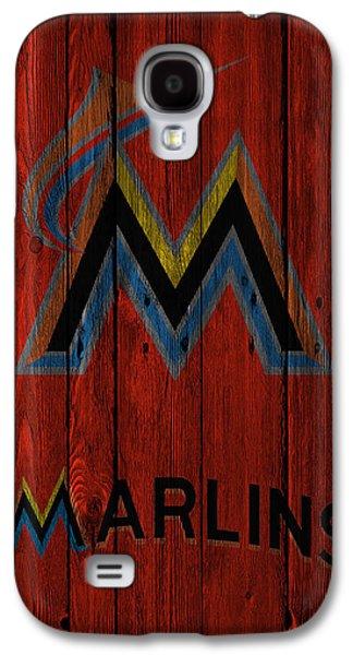 Marlin Galaxy S4 Cases - Miami Marlins Galaxy S4 Case by Joe Hamilton