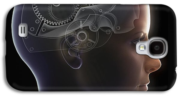 Mechanism Galaxy S4 Cases - Thought Mechanism Galaxy S4 Case by Science Picture Co