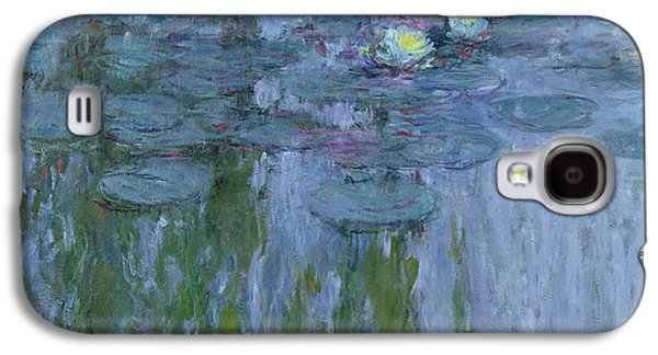 Old Masters - Galaxy S4 Cases - Waterlilies Galaxy S4 Case by Claude Monet
