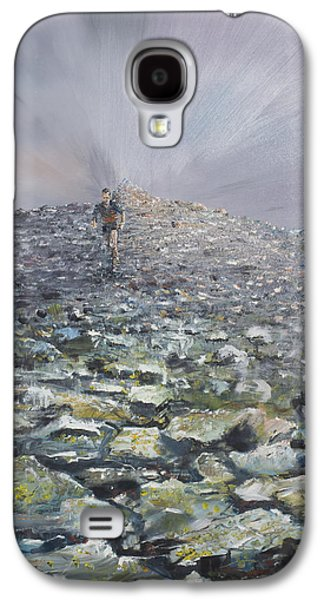 Mountainous Paintings Galaxy S4 Cases - 1073768 Galaxy S4 Case by Vincent Alexander Booth
