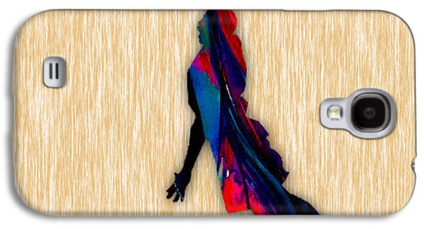 Ball Galaxy S4 Cases - Basketball Galaxy S4 Case by Marvin Blaine