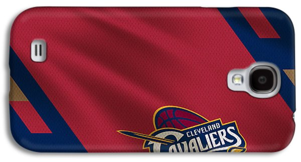 3 Pointer Galaxy S4 Cases - Cleveland Cavaliers Uniform Galaxy S4 Case by Joe Hamilton