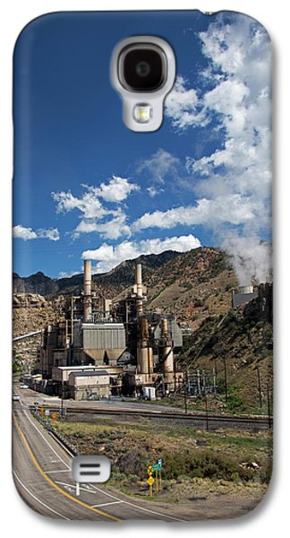 Coal-fired Power Station Galaxy S4 Case by Jim West