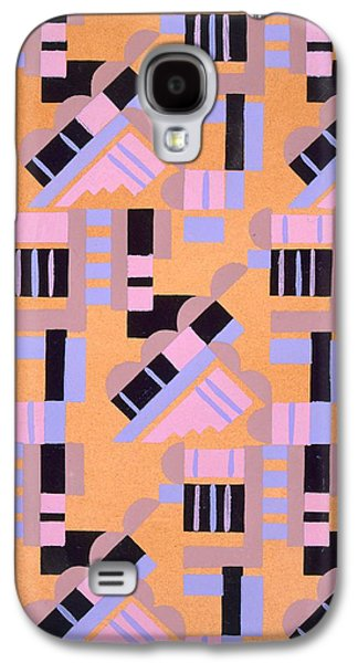 Abstract Shapes Drawings Galaxy S4 Cases - Design from Nouvelles Compositions Decoratives Galaxy S4 Case by Serge Gladky