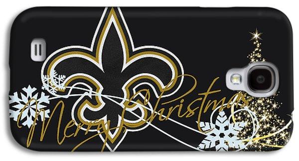 Orleans Photographs Galaxy S4 Cases - New Orleans Saints Galaxy S4 Case by Joe Hamilton
