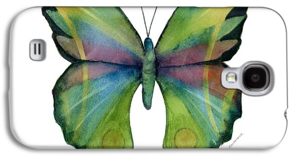 Moth Paintings Galaxy S4 Cases - 11 Prism Butterfly Galaxy S4 Case by Amy Kirkpatrick