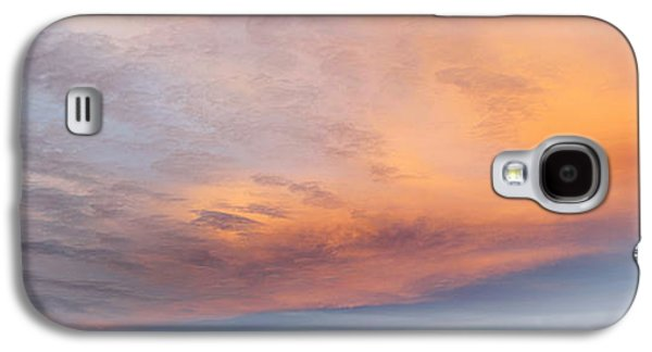 Sunset Abstract Galaxy S4 Cases - Sky Galaxy S4 Case by Les Cunliffe