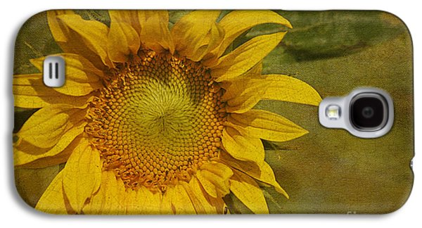 Sunflower Galaxy S4 Case by Cindi Ressler