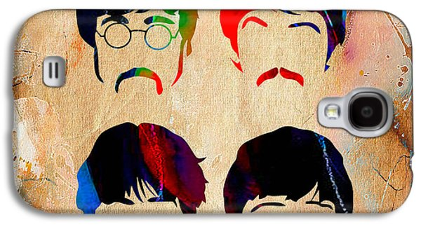 Ringo Galaxy S4 Cases - The Beatles Collection Galaxy S4 Case by Marvin Blaine