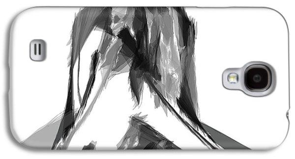 Abstract Digital Art Galaxy S4 Cases - Abstract Series II Galaxy S4 Case by Rafael Salazar