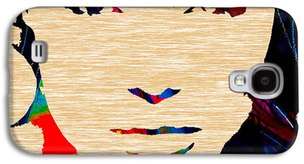 Star Galaxy S4 Cases - Angelina Jolie Collection Galaxy S4 Case by Marvin Blaine