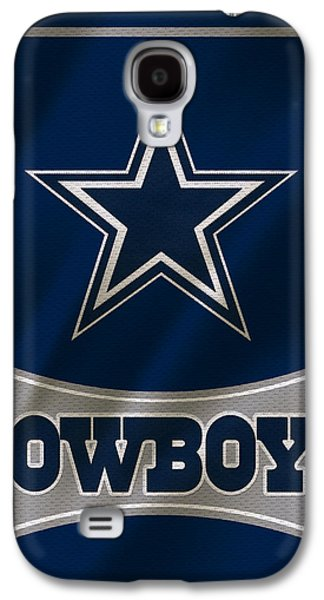 Galaxies Galaxy S4 Cases - Dallas Cowboys Uniform Galaxy S4 Case by Joe Hamilton