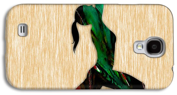 Fitness Yoga Galaxy S4 Case by Marvin Blaine