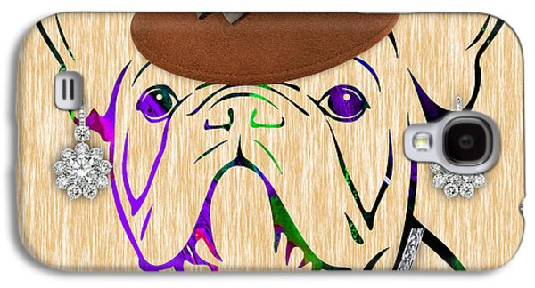 Pet Portrait Galaxy S4 Cases - French Bulldog Collection Galaxy S4 Case by Marvin Blaine
