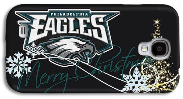 Presents Galaxy S4 Cases - Philadelphia Eagles Galaxy S4 Case by Joe Hamilton