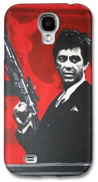 Scarface Galaxy S4 Case by Luis Ludzska