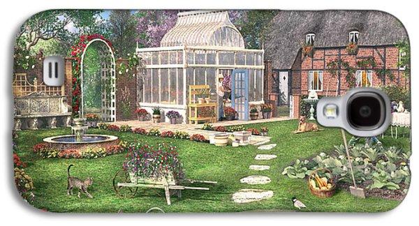 The Cottage Garden Galaxy S4 Case by Dominic Davison