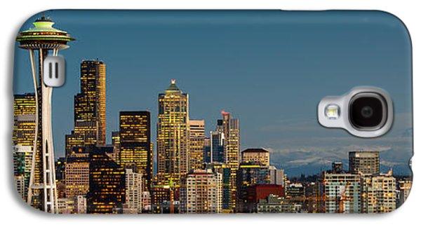 Winter Light Galaxy S4 Cases - 12th Man City Galaxy S4 Case by Dan Mihai