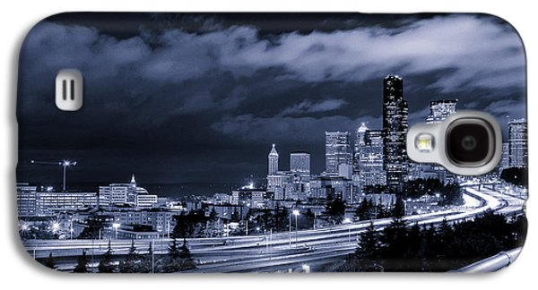 Selenium Galaxy S4 Cases - 12th Street Bridge View Galaxy S4 Case by Tanya Harrison