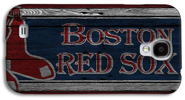 Red Sox Galaxy S4 Cases - Boston Red Sox Galaxy S4 Case by Joe Hamilton