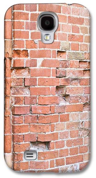 Torn Galaxy S4 Cases - Brick wall Galaxy S4 Case by Tom Gowanlock