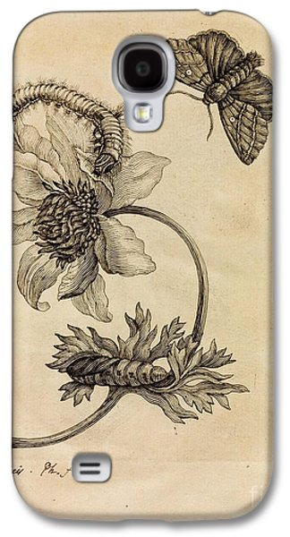 Miraculous Drawings Galaxy S4 Cases - Erucarum Ortus Galaxy S4 Case by Celestial Images