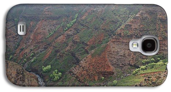 Beach Landscape Galaxy S4 Cases - Kauai Canyons Galaxy S4 Case by Steven Lapkin