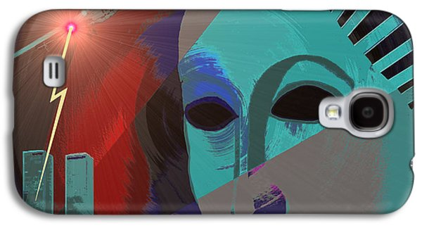Terrorist Galaxy S4 Cases - 132 - Nine eleven in my mind Galaxy S4 Case by Irmgard Schoendorf Welch