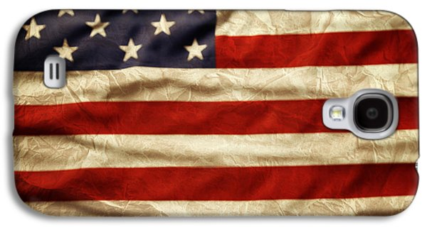 American Galaxy S4 Cases - American flag Galaxy S4 Case by Les Cunliffe
