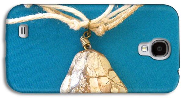 Yellow Jewelry Galaxy S4 Cases - Aphrodite Urania Necklace Galaxy S4 Case by Augusta Stylianou
